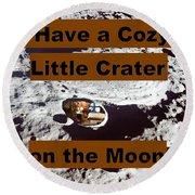 Crater13 Round Beach Towel