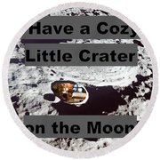 Crater14 Round Beach Towel