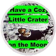 Crater19 Round Beach Towel