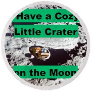 Crater20 Round Beach Towel