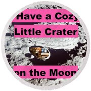 Crater25 Round Beach Towel
