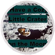 Crater28 Round Beach Towel