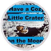 Crater30 Round Beach Towel