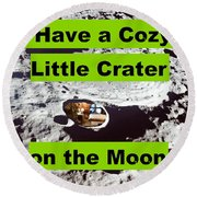Crater5 Round Beach Towel