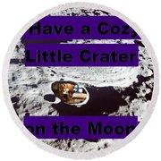 Crater9 Round Beach Towel