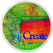 Create Round Beach Towel