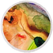 Creation's Embrace Round Beach Towel