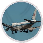 Crosswind Round Beach Towel