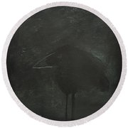 Crow Round Beach Towel