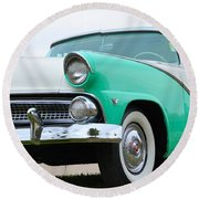 Crown Victoria Round Beach Towel