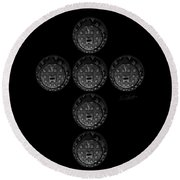 Cruciform Round Beach Towel