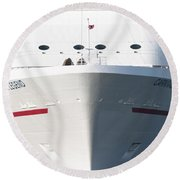 Cruise On Round Beach Towel