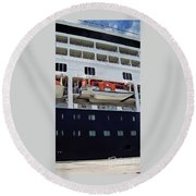 Cruise Time Round Beach Towel