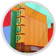 Crump Color Round Beach Towel