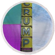 Crump Water Round Beach Towel