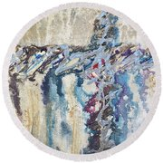 Crux 8 Round Beach Towel