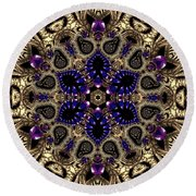 Crystal 61345 Round Beach Towel