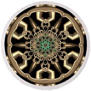 Crystal 6134555 Round Beach Towel