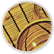 Crystal Ball Project 100 Round Beach Towel