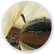 Crystal Ball Project 120 Round Beach Towel