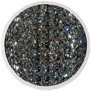 Crystal Cool Round Beach Towel