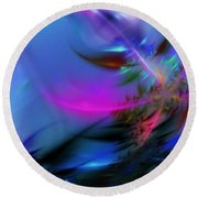 Crystal Egg Round Beach Towel