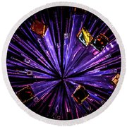 Crystal Reports Round Beach Towel