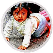 Cuenca Kids 1012 Round Beach Towel