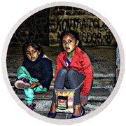 Cuenca Kids 953 Round Beach Towel