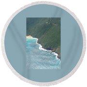 Culebra Splendor Round Beach Towel