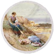 Cullercoats Round Beach Towel