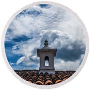Cupula Antigua Guatemala 1 Round Beach Towel