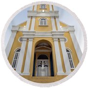 Curacao - The Office Of The Public Prosecutor Round Beach Towel