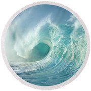 Curling Wave Round Beach Towel
