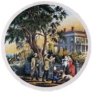 Currier: Country Life Round Beach Towel