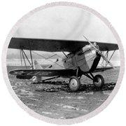 Curtiss P-1 Hawk,1925 Round Beach Towel