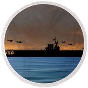 Cus Washington 1926 V3 Round Beach Towel