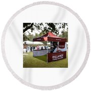 Custom Event Tents For Branding Round Beach Towel