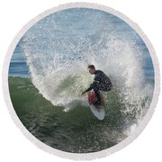 Cutback Splash Round Beach Towel