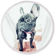 Cute Round Beach Towel