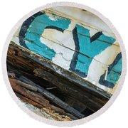 Cya Brookingss Harbor 0121 Round Beach Towel