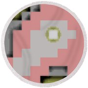 Cyberstructure 16 Round Beach Towel by Eikoni Images
