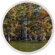Cypress Grove Four Round Beach Towel