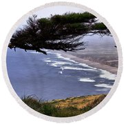 Cypress View Round Beach Towel