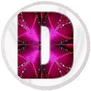 d dd ddd Alpha Art on Shirts alphabets initials   shirts jersey t-shirts v-neck by NavinJoshi Round Beach Towel