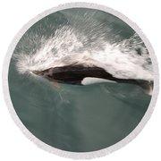 Dahl Dolphin Round Beach Towel