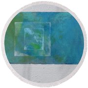 Daily Abstraction 218020601 Round Beach Towel