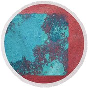 Daily Abstraction 218022001b Round Beach Towel
