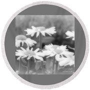 Daisy Daze Round Beach Towel