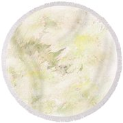Daisy Dreams Round Beach Towel